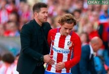 Diego Simeone and Antoine Griezmann