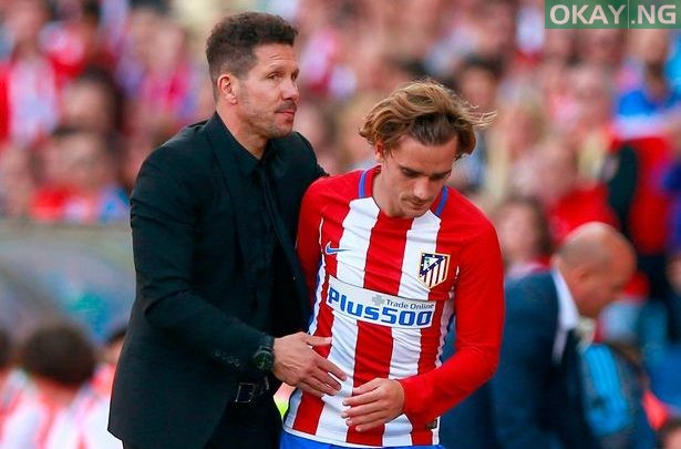 Photo of Diego Simeone disappointed with Griezmann over decision to leave the club
