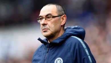D50r ljXsAEDjEH 390x220 - Premier League: Sarri reveals mistake he made in Chelsea 3-0 win over Watford