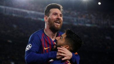 D5gyN69XoAAslB3 390x220 - Barcelona secures 3-0 win against  Liverpool in Champions League clash [Video]