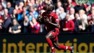 Liverpool striker, Sadio Mane