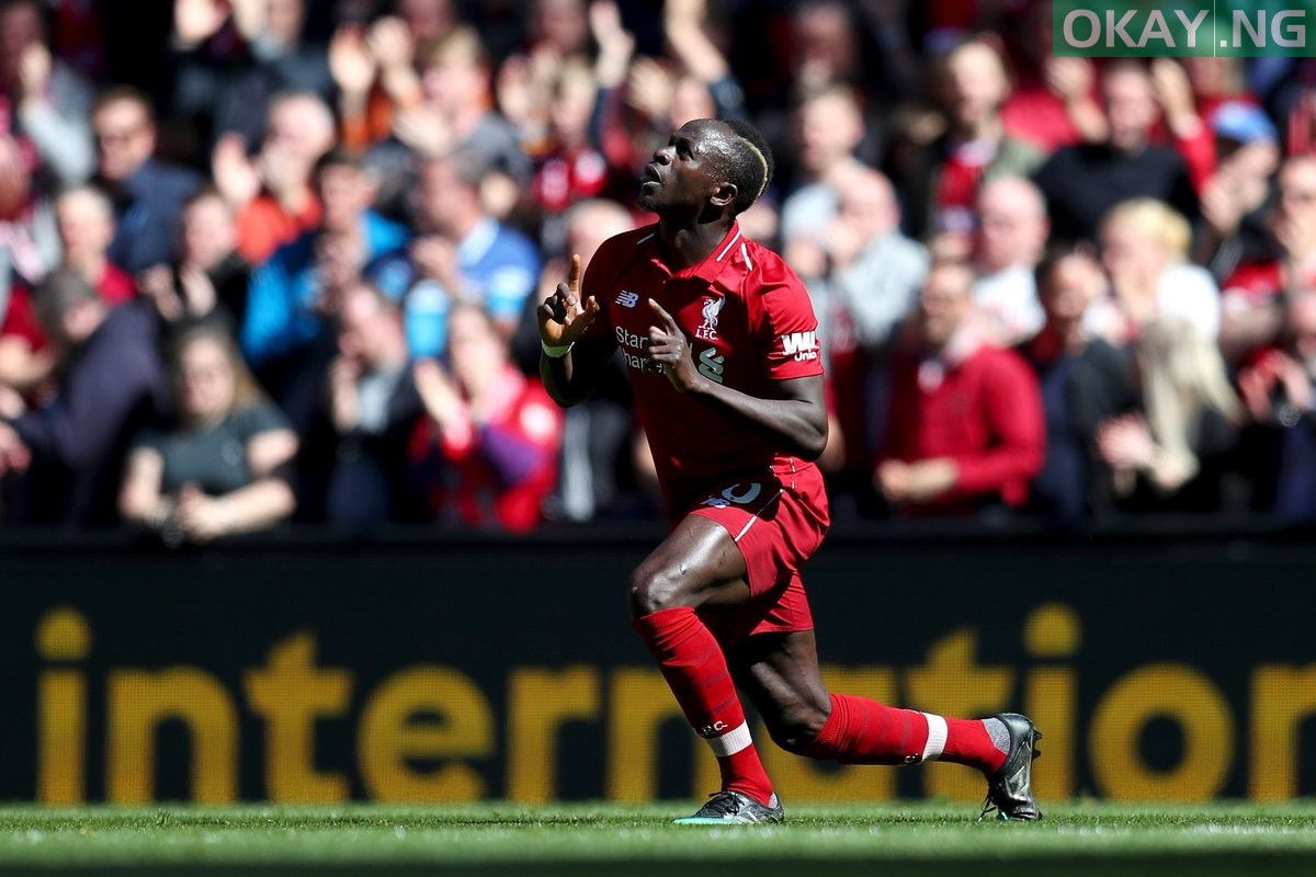 Liverpool striker, Sadio Mane