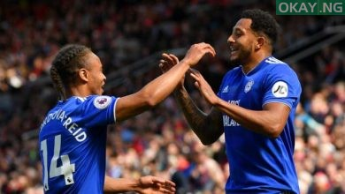 Manchester United 0-2 Cardiff City