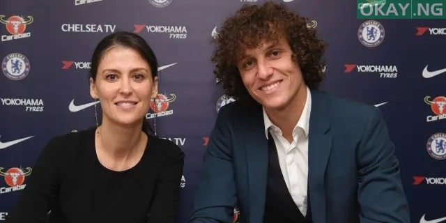David Luiz 2019 contract Okay ng - David Luiz signs new two-year contract extension with Chelsea