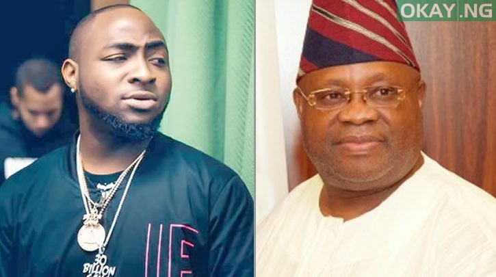Photo of Davido sad over outcome of Adeleke's case at appeal court