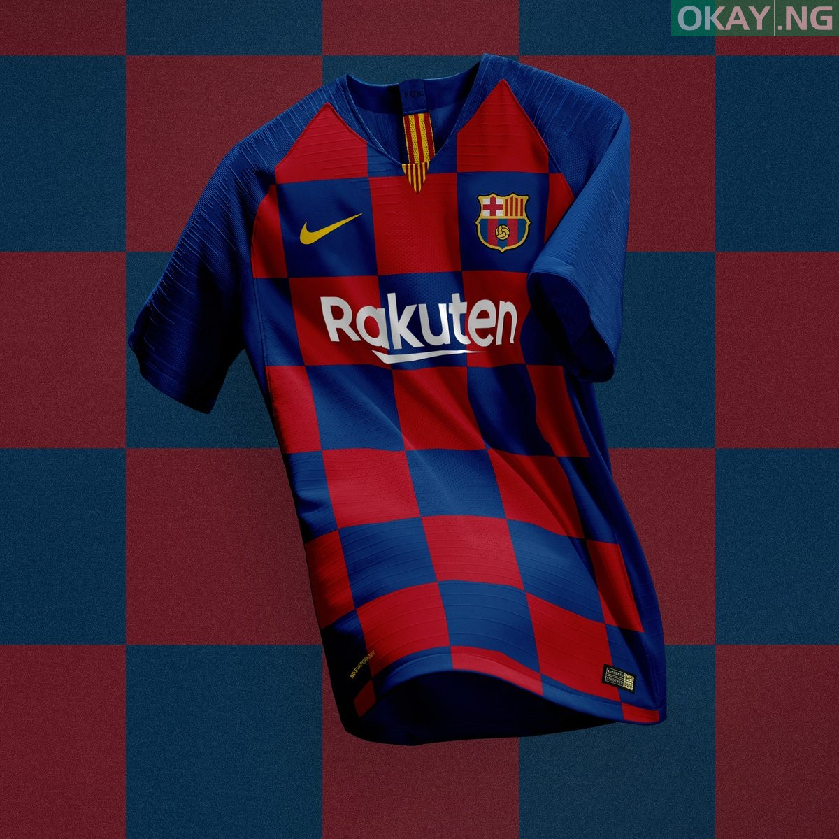 DoIZnTVVsAEB3q0 - Barcelona New Home Kit for 2019-2020 Season leaked [See Photo]