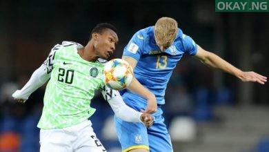 FlyingEagles Okay ng 390x220 - U-20 World Cup: Nigeria draw Ukraine 1-1, get through next stage
