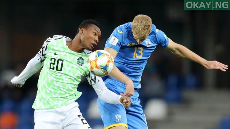 FlyingEagles Okay ng - U-20 World Cup: Nigeria draw Ukraine 1-1, get through next stage
