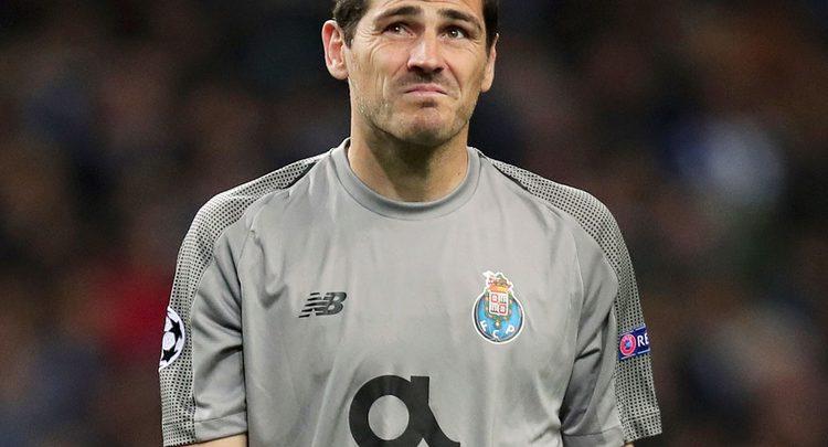 Photo of Casillas suffers heart attack during training session in Porto