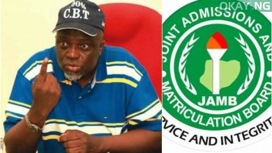 JAMB Prof Okay ng 390x220 - JAMB parades top staff for collecting bribe from admission seeker