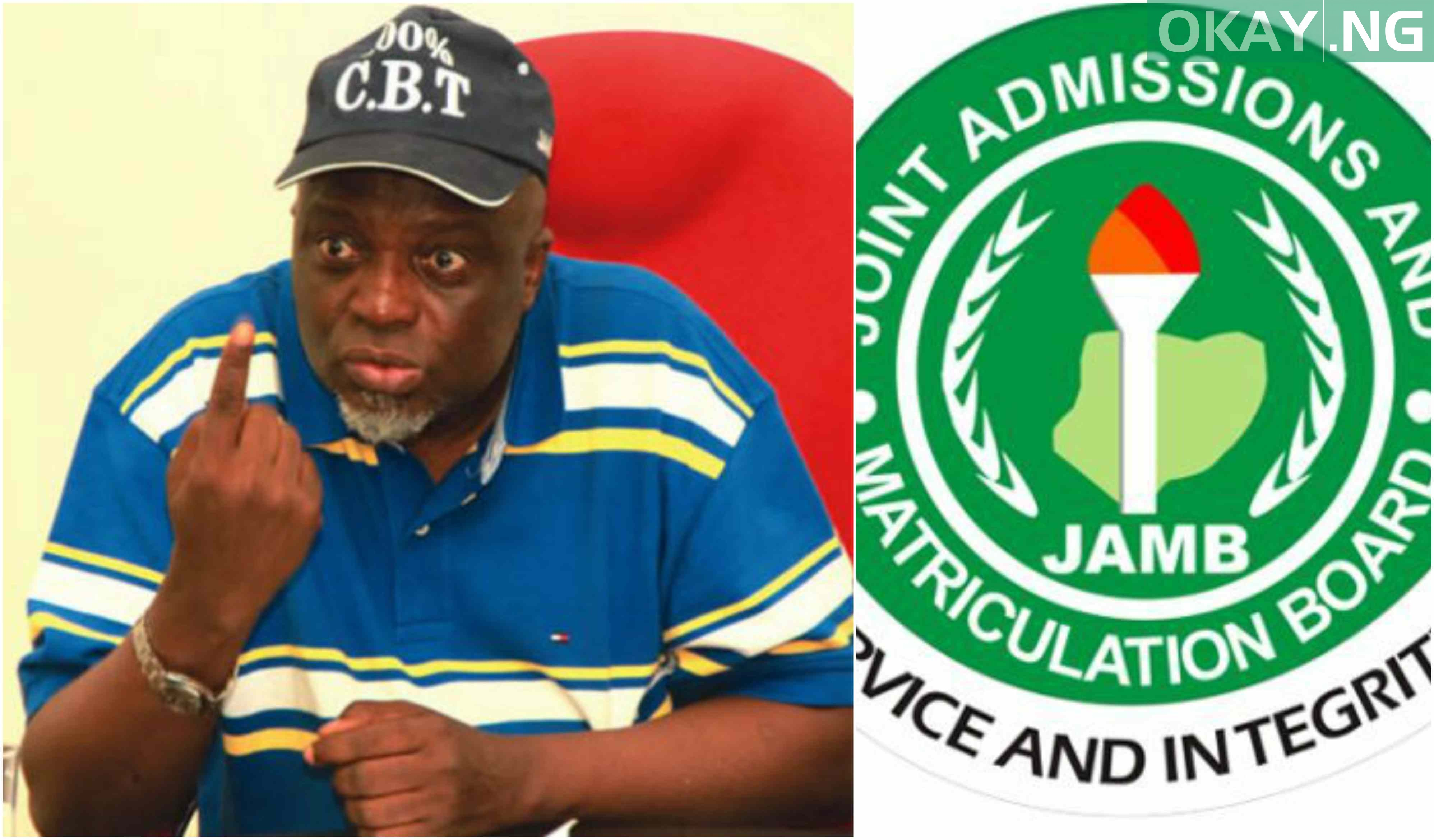 JAMB Prof Okay ng - JAMB parades top staff for collecting bribe from admission seeker