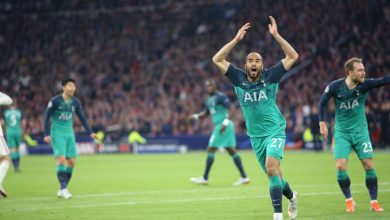 Lucas Okay ng vs Ajax 390x220 - Tottenham proceed to Champions League final after defeating Ajax 3-2 [Video]