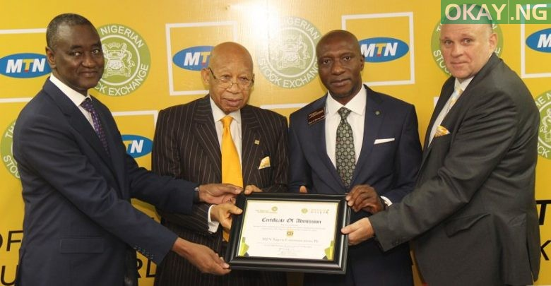 Photo of MTN Nigeria finally listed on Nigerian Stock Exchange