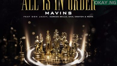 "Mavins All Is In Order okay ng 390x220 - Mavins presents ""All Is in Order"" feat. Don Jazzy, Rema, Korede Bello, DNA, Crayon [Audio]"