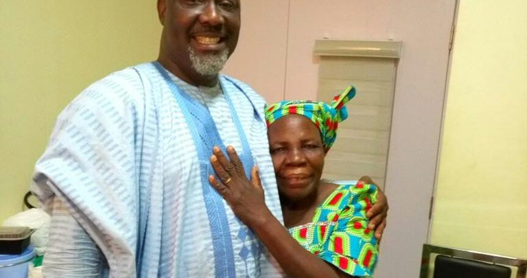 Photo of Dino Melaye's mother passes away