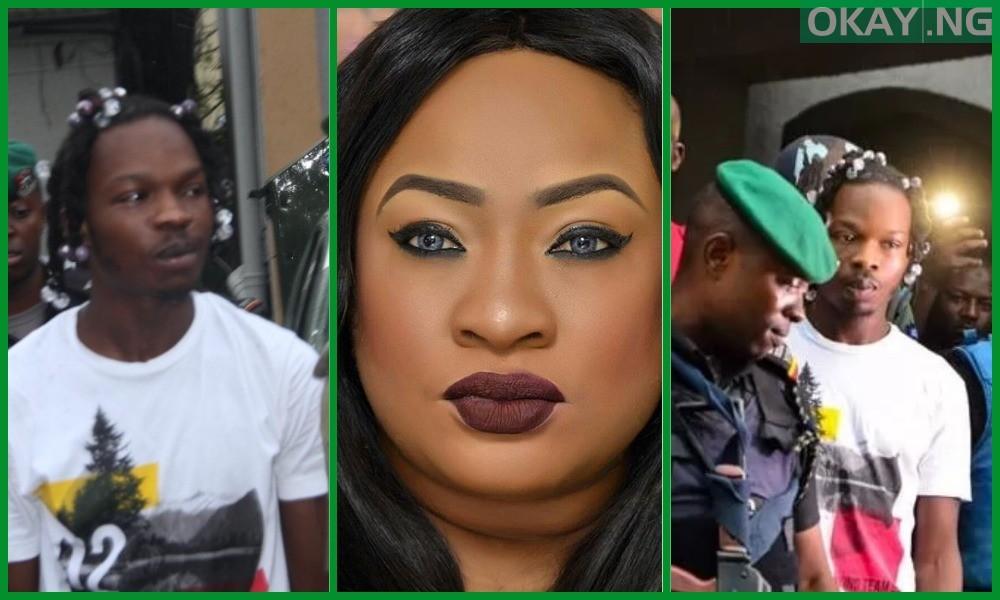 Naira Marley Collage Actress okay ng - Nigerian actress Foluke Daramola slams colleagues for supporting Naira Marley over fraud case