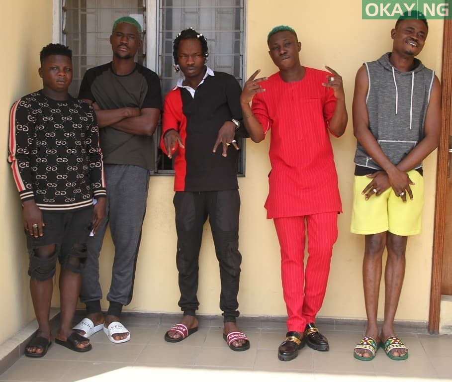 Naira Marley Zlatan Okay ng 1 - Photos of Naira Marley, Zlatan, others in EFCC custody