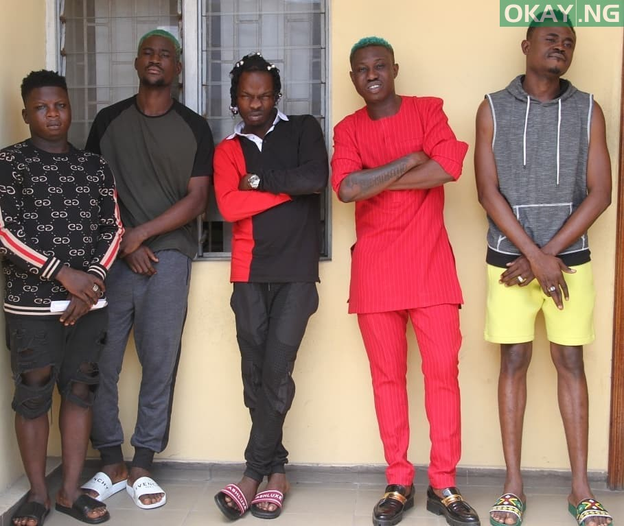 Naira Marley Zlatan Okay ng 3 - Photos of Naira Marley, Zlatan, others in EFCC custody
