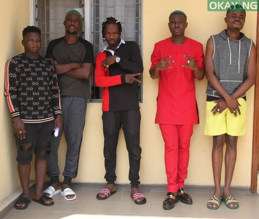 Naira Marley Zlatan Okay ng 4 - Photos of Naira Marley, Zlatan, others in EFCC custody