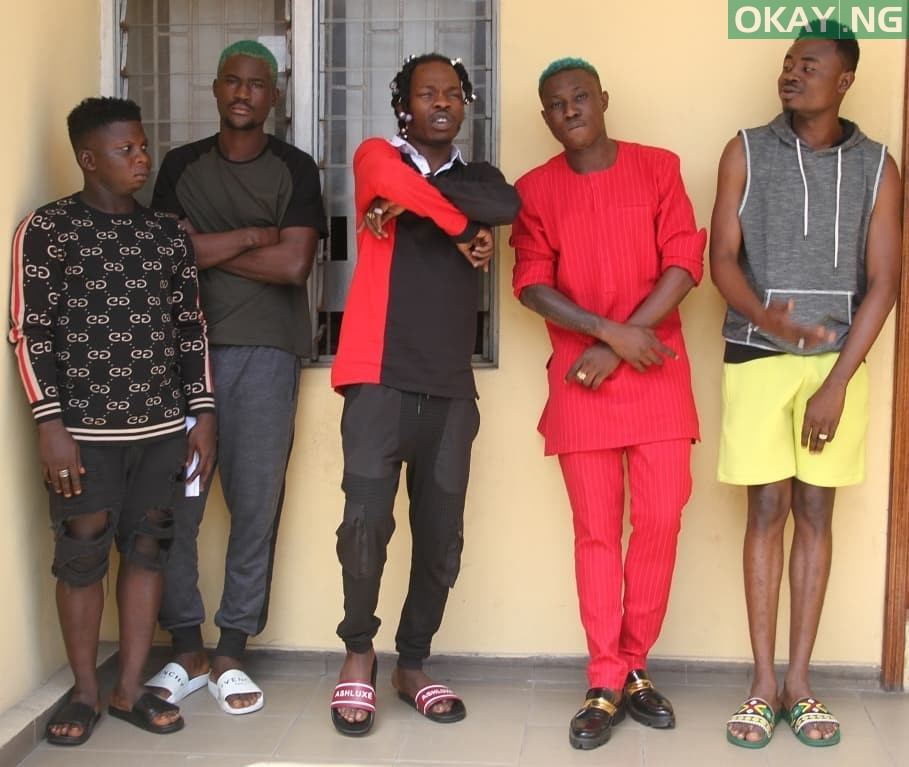 Naira Marley Zlatan Okay ng 5 - Photos of Naira Marley, Zlatan, others in EFCC custody