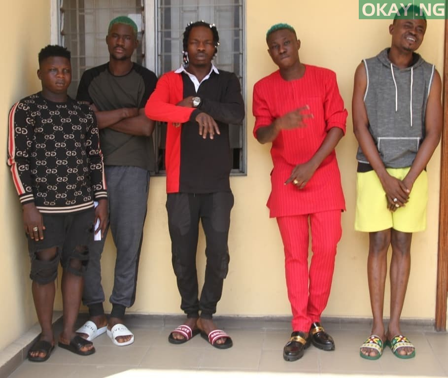 Naira Marley Zlatan Okay ng 6 - Photos of Naira Marley, Zlatan, others in EFCC custody