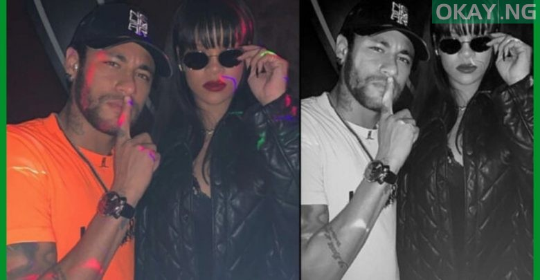 Photo of Neymar links up with Rihanna [Photo]