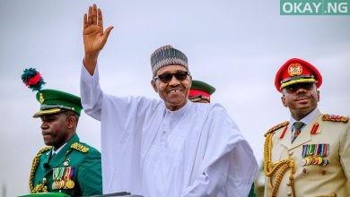 Official Buhari Okay ng 1 390x220 - Official photos from Buhari's second term inauguration in Abuja