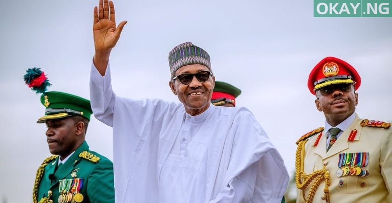 Photo of Official photos from Buhari's second term inauguration in Abuja