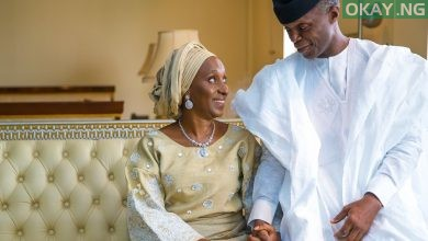 Yemi Osinbajo and his wife, Dolapo