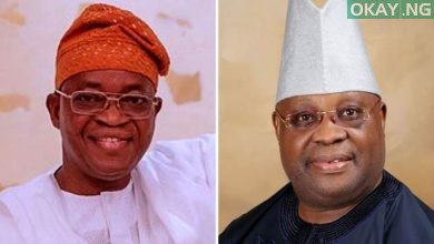 Oyetola Adeleke 390x220 - Court of Appeal rules in favour of Oyetola, voids Adeleke's victory