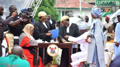 Sanwo Olu Lagos 390x220 - Sanwo-Olu sworn-in as Lagos state Governor