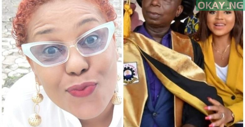 Photo of Shan George curses Ned Nwoko over marriage to Regina Daniels