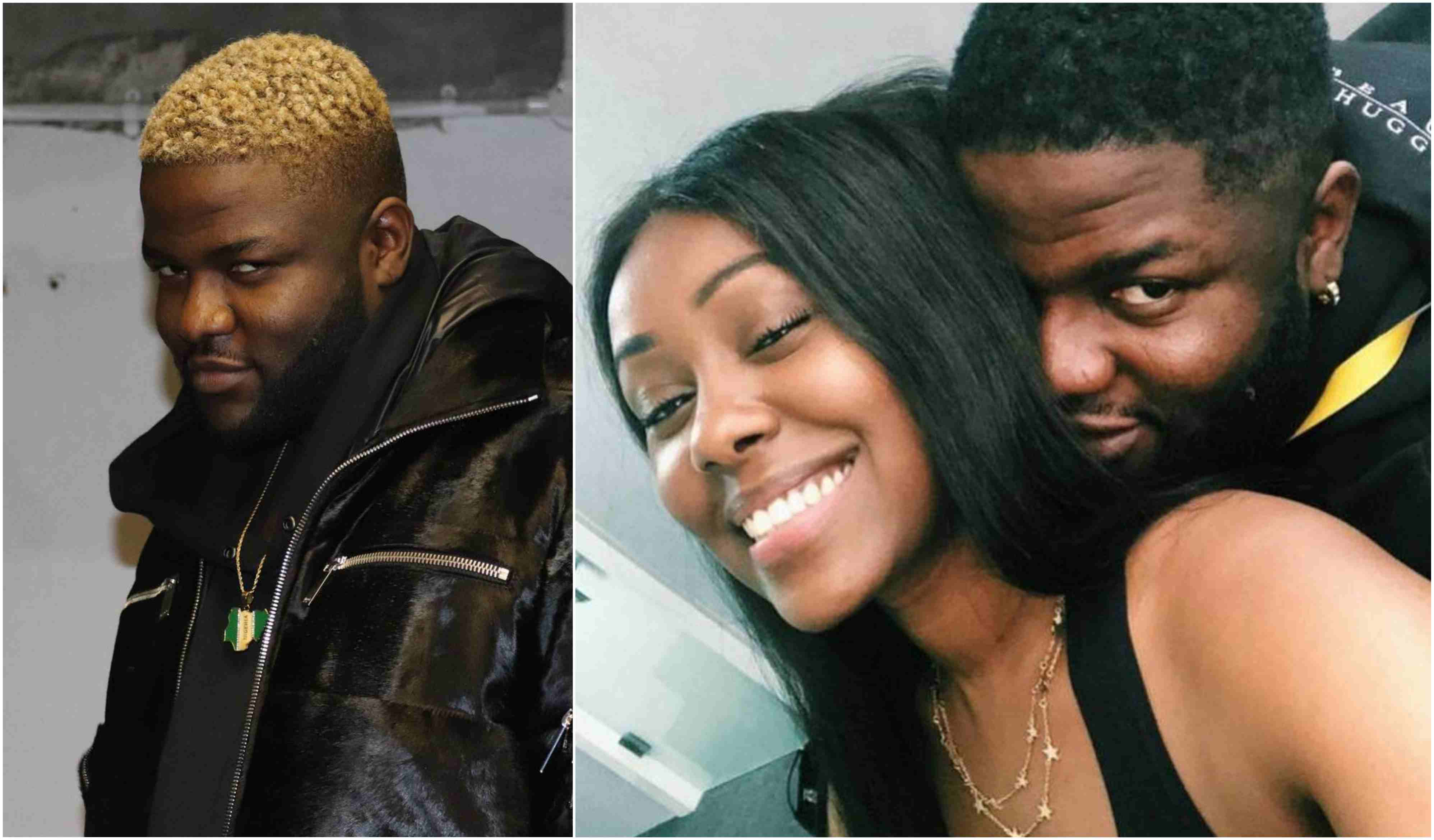 Skales Girlfriend Neza Okay ng - Skales reveals his girlfriend on their first anniversary