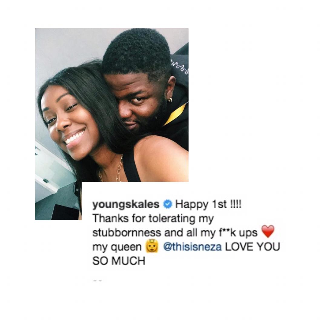 Skales Okay ng 1 - Skales reveals his girlfriend on their first anniversary