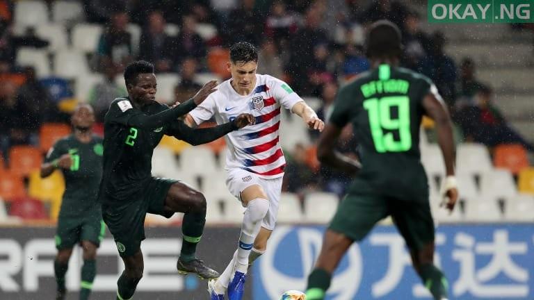 U20Nigeria USA Okay ng - U-20 World Cup: Nigeria lose 2-0 to USA