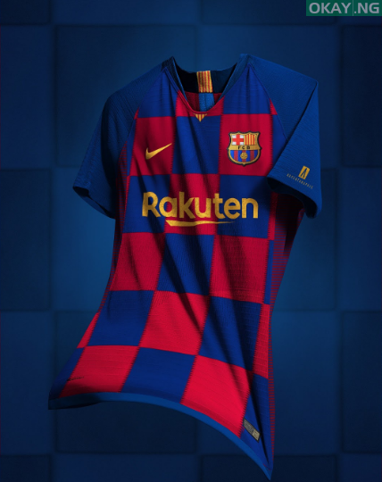 UCScreenshot20190517113143 - Barcelona New Home Kit for 2019-2020 Season leaked [See Photo]