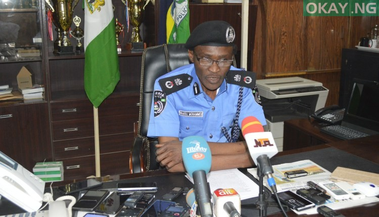 Wakili Mohammed Okay ng 1 - Police seize 303 cartons of Tramadol tablets in Kano