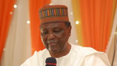 Yakubu Gowon Okay ng 390x220 - Yakubu Gowon collapses during burial ceremony in Delta