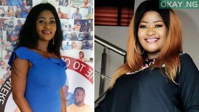 biola adekunle Okay ng 390x220 - Nigerian actress Biola Adekunle welcomes first child