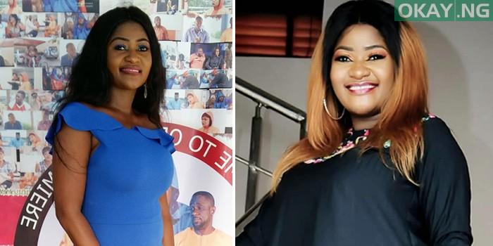 biola adekunle Okay ng - Nigerian actress Biola Adekunle welcomes first child