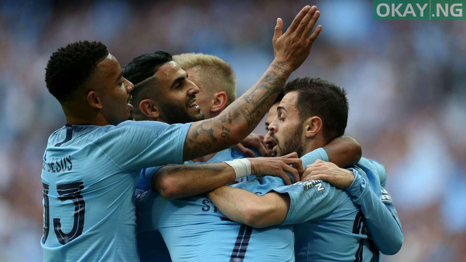 Manchester City vs Watford in FA Cup Final