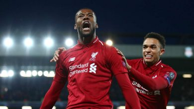 georginiowijnaldum cropped jpt3l8maxy6a10uu54dliaoi3 390x220 - Liverpool eliminate Barcelona from Champions League after 4-0 win [Video]