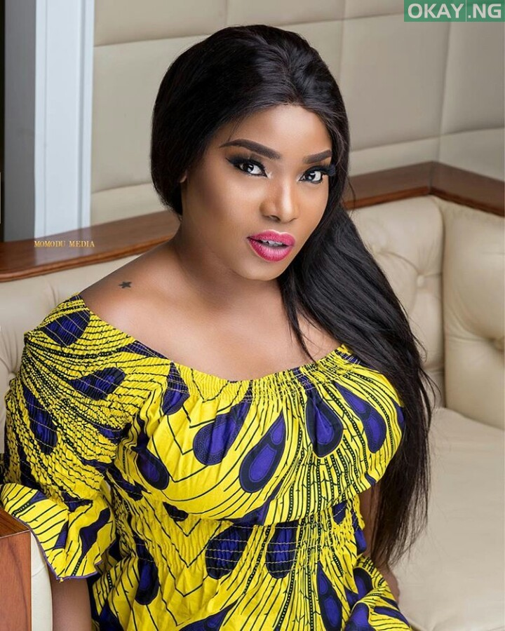 halima abubakar okay ng - Cossy Orjiakor accuses Halima Abubakar of making people believe she slept with a Dog