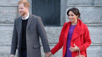 prince harry meghan markle birkenhead t 390x220 - UK's Prince Harry, and wife Meghan Markle, welcome baby boy