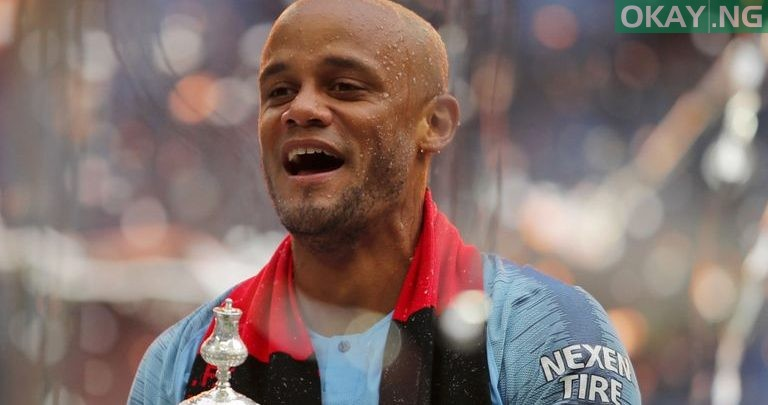 Photo of Kompany writes letter to fans as he leaves Manchester City