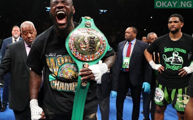 Photo of Wilder knocks out Breazeale in first round to keep WBC heavyweight title