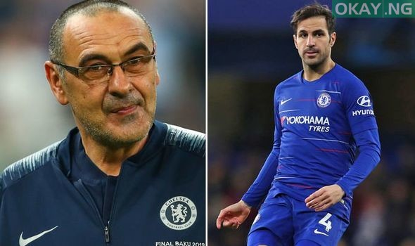 Photo of Maurizio Sarri is a very stubborn manager – Fabregas reveals