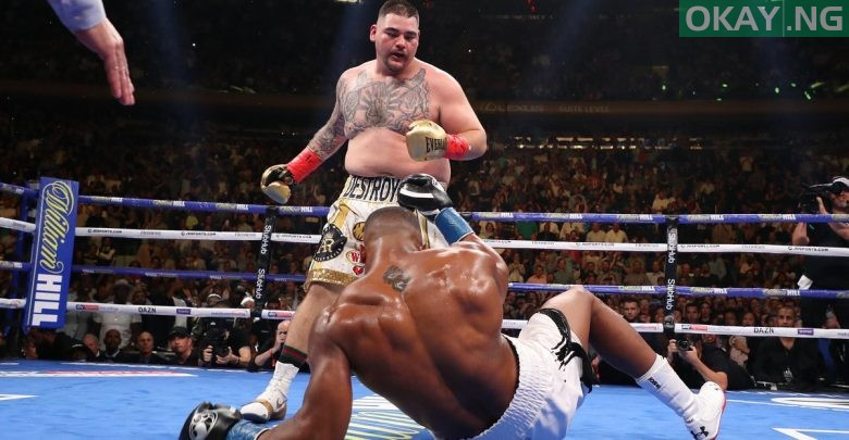 Photo of Anthony Joshua suffers defeat, Andy Ruiz Jr clinch heavyweight titles