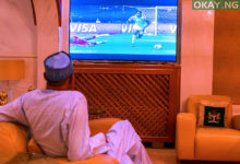 Buhari AFCON Nigeria Burundi Okay ng 1 220x150 - AFCON: Photos of Buhari watching Super Eagles' match against Burundi
