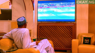 Buhari AFCON Nigeria Burundi Okay ng 2 390x220 - Buhari congratulates Super Eagles over victory against South Africa